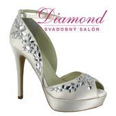 Svadobné topánky Silvia (6164), 36