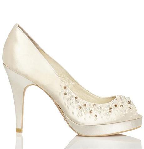 Svadobné topánky Vanesa (4345) - Obrázok č. 1