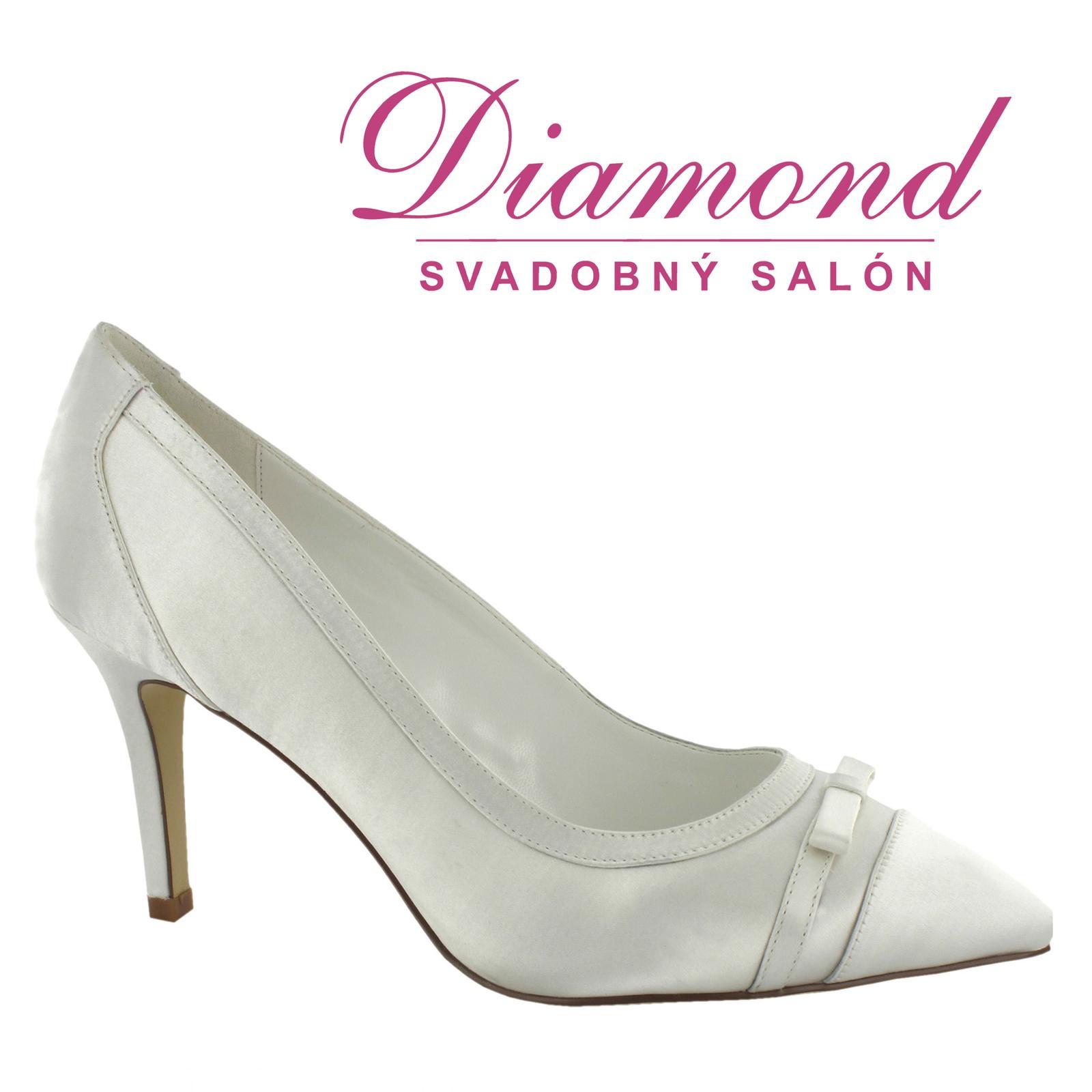 Svadobné topánky Ofelia (6799) - Obrázok č. 1