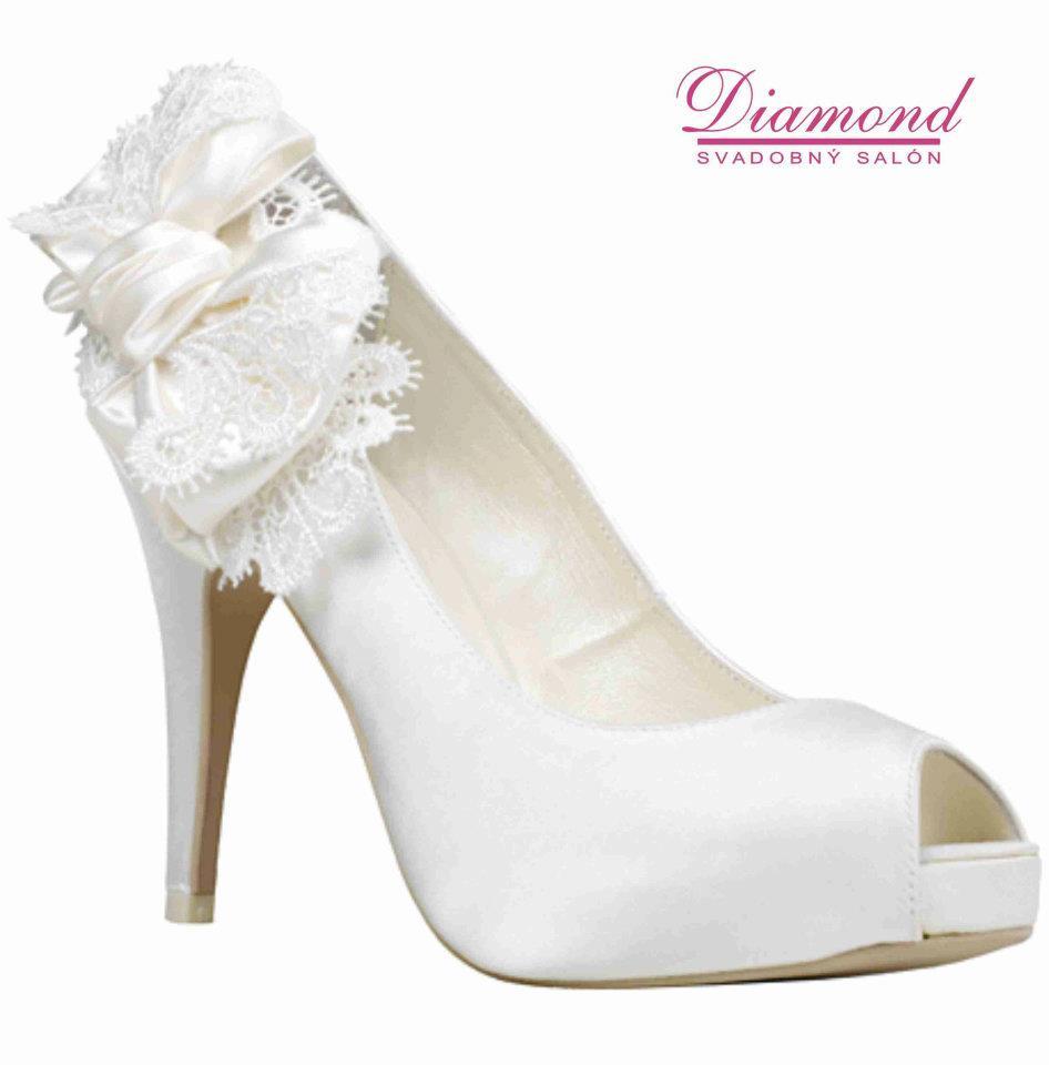 Svadobné topánky Adela (4344) - Obrázok č. 1
