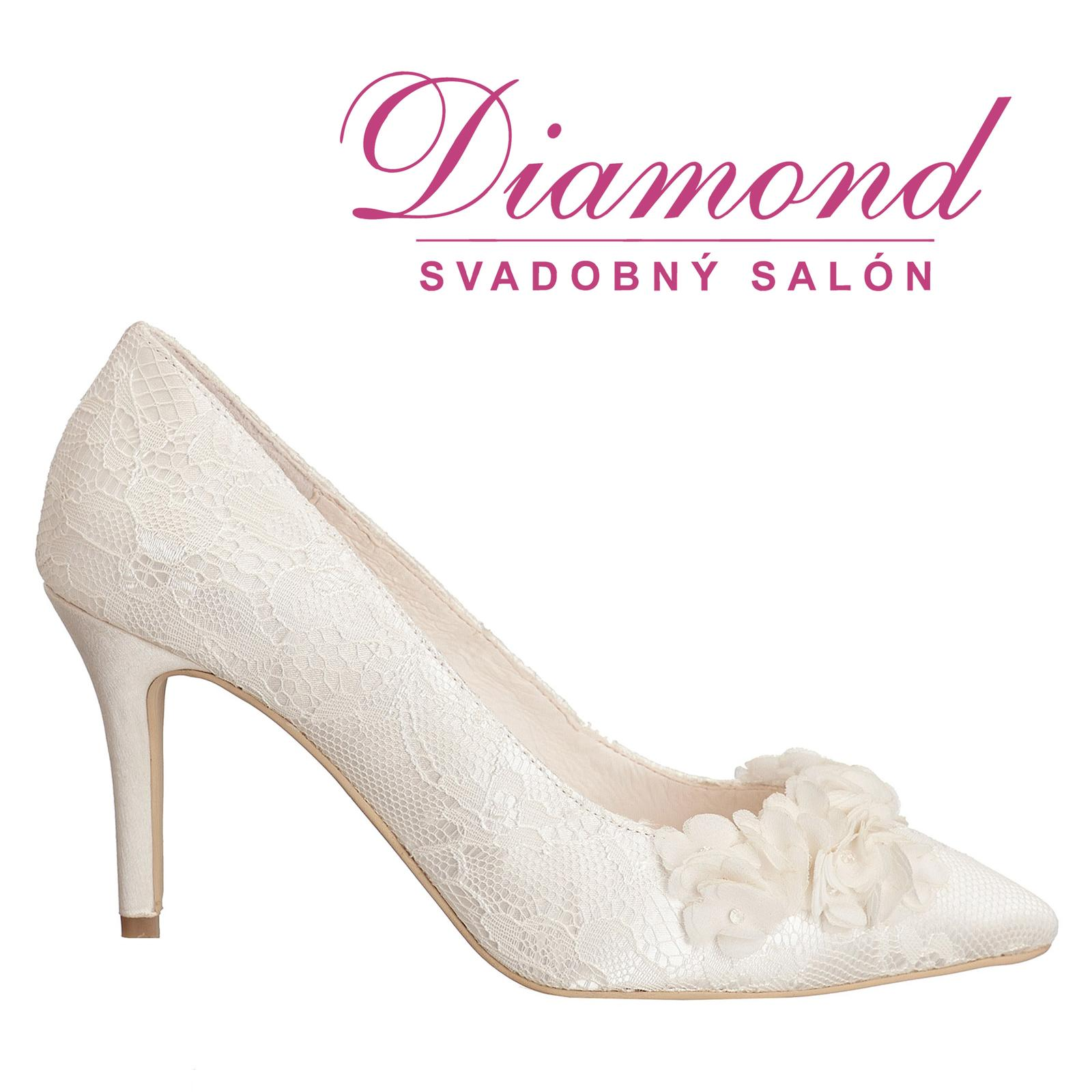 Svadobné topánky Lucia (6285) - Obrázok č. 1