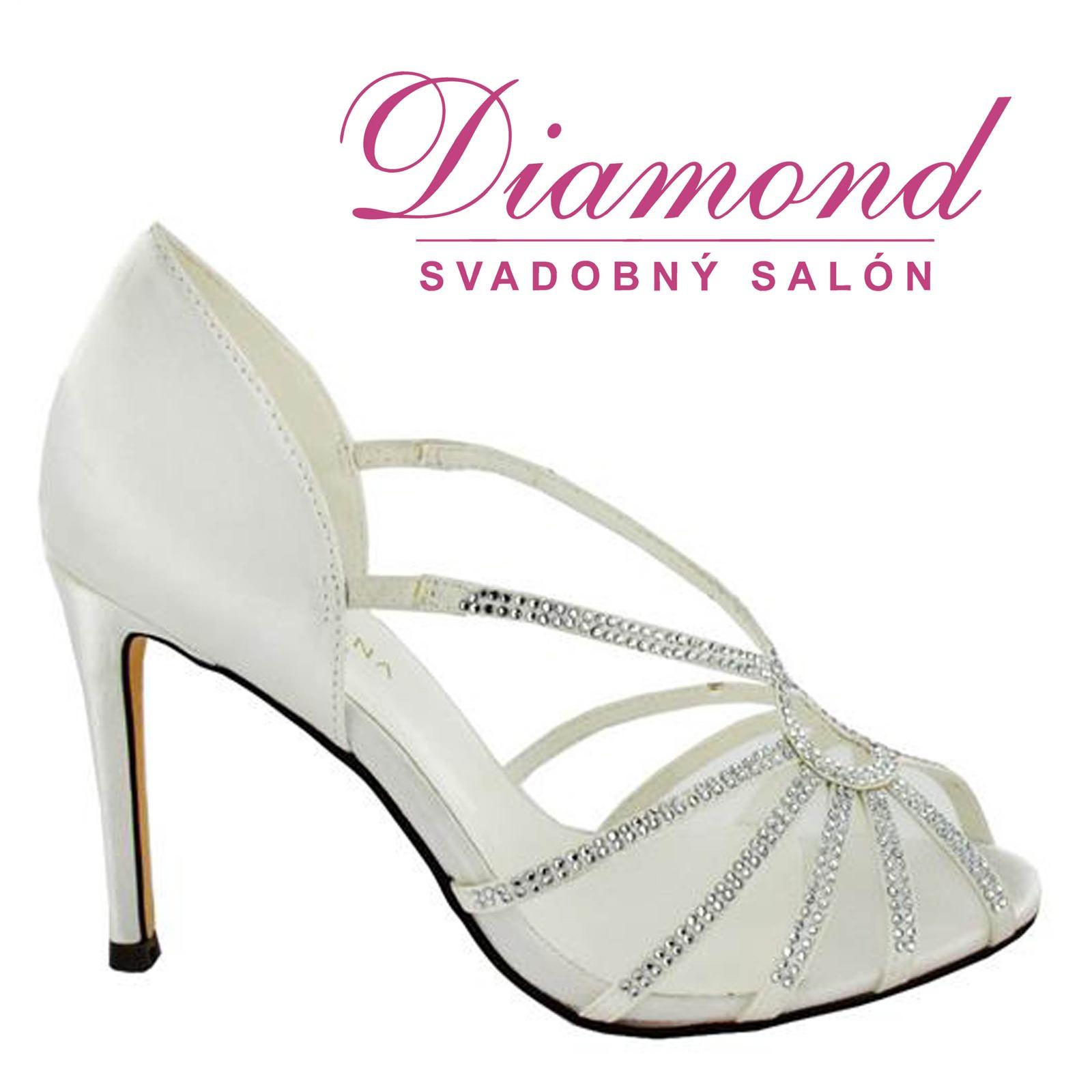 Svadobné topánky Maribel (6777) - Obrázok č. 1