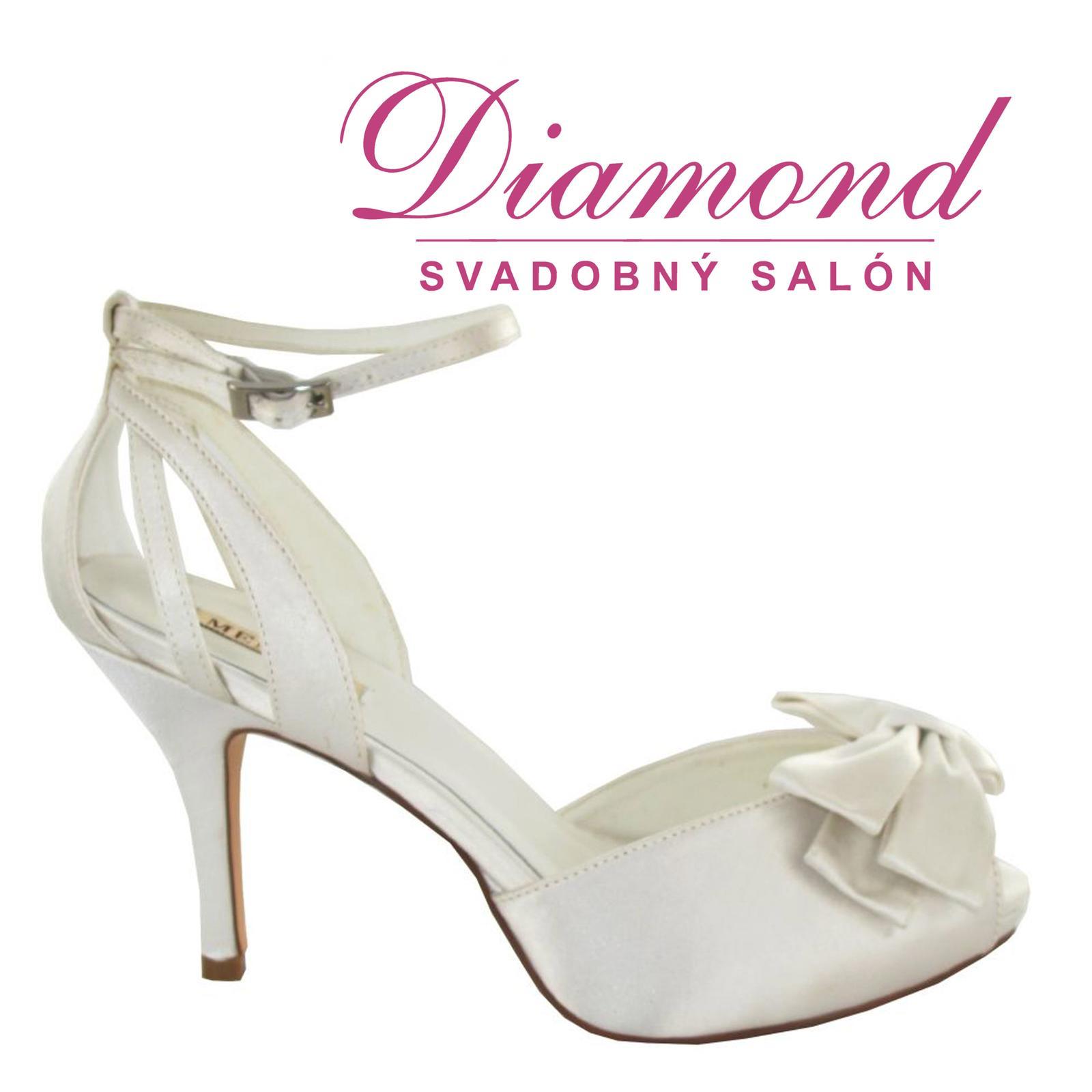 Svadobné topánky Clementina (6972) - Obrázok č. 1