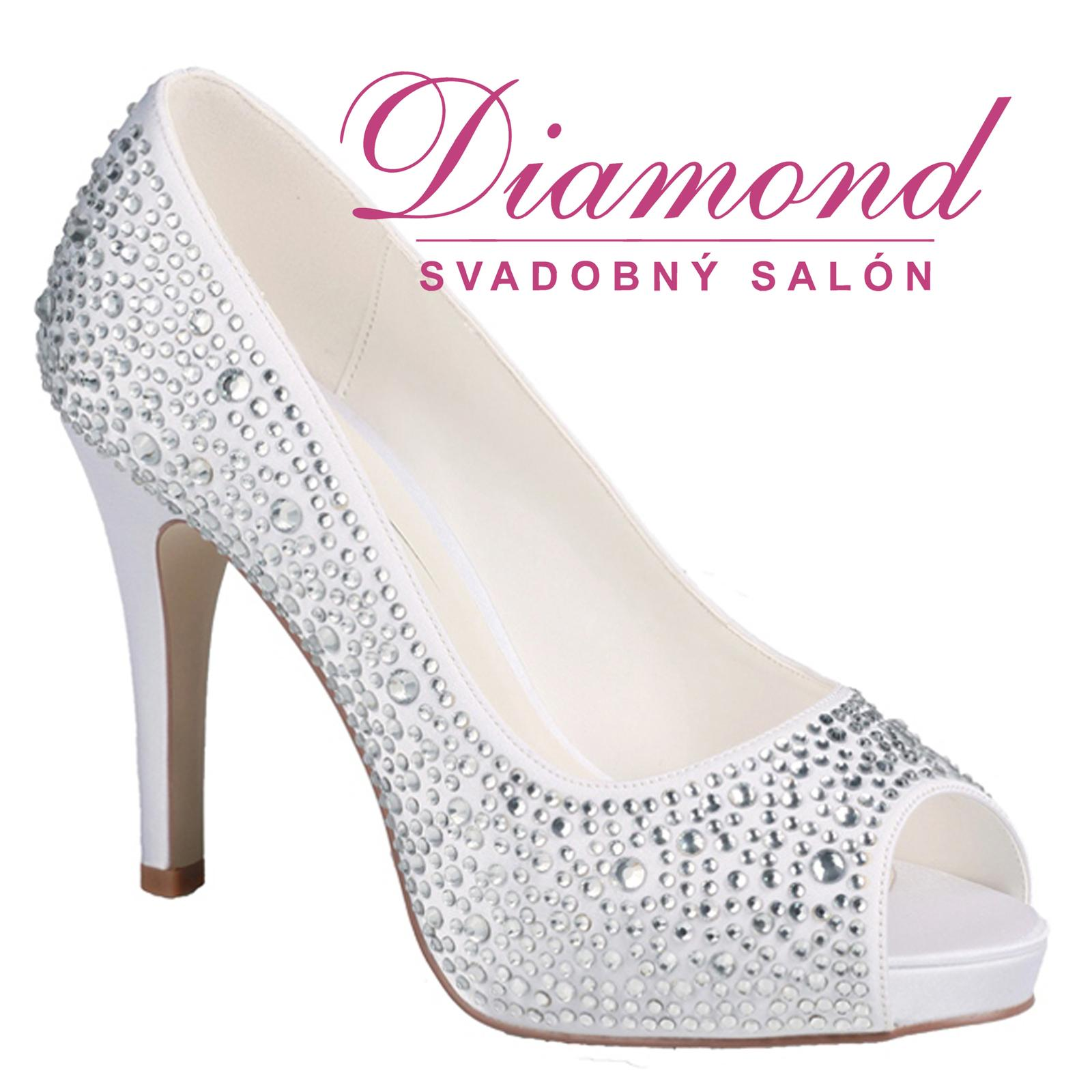 Svadobné topánky Roxanne - Obrázok č. 1