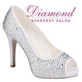 Svadobné topánky Roxanne, 36