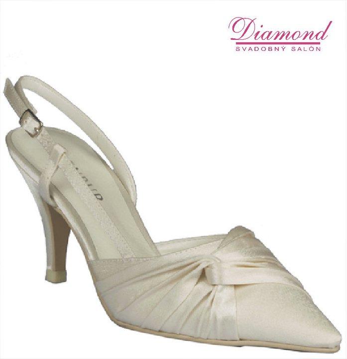 Svadobné topánky Menbur 3006 - Obrázok č. 1