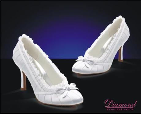 Svadobné topánky MM046 - Obrázok č. 1
