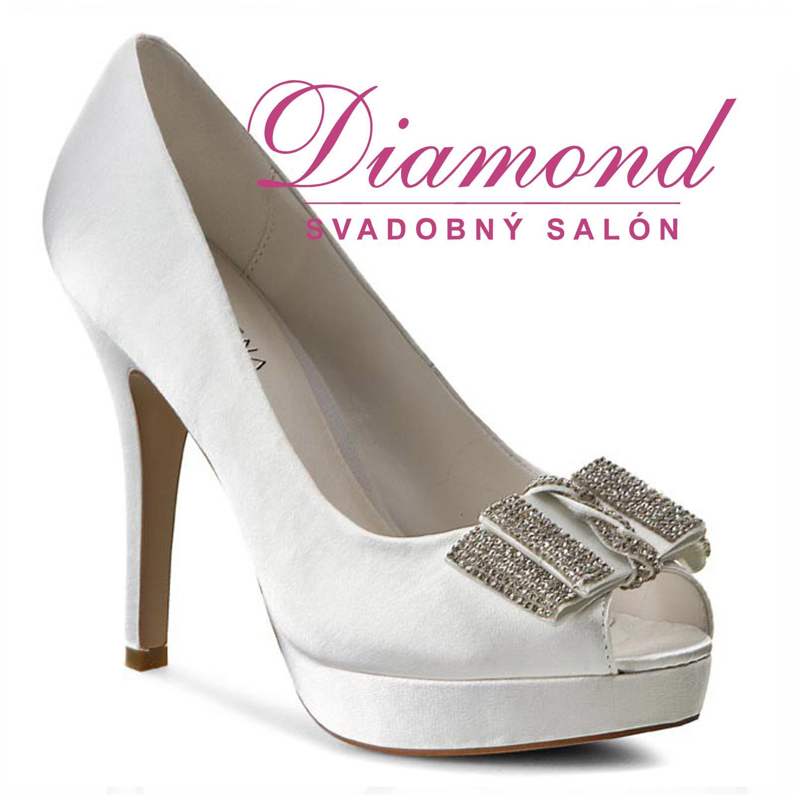Svadobné topánky Montse (6206) - Obrázok č. 1
