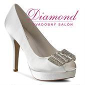 Svadobné topánky Montse (6206), 35