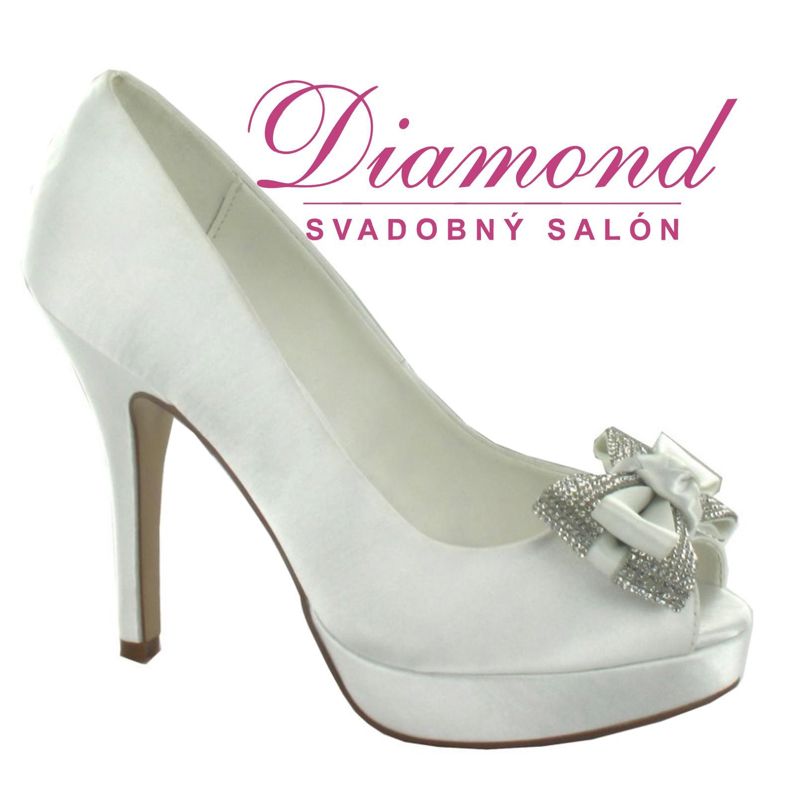 Svadobné topánky Noemi (6551) - Obrázok č. 1