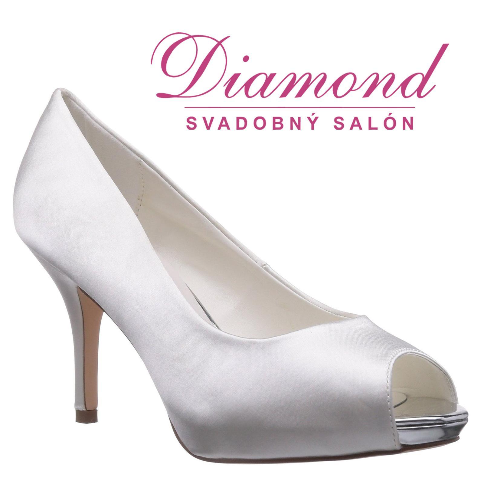 Svadobné topánky Amália (6264) - Obrázok č. 1