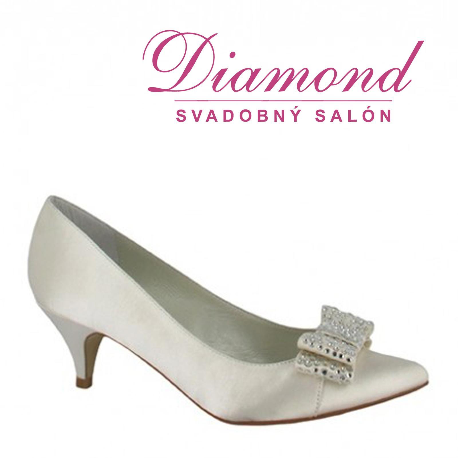 Svadobné topánky Eulalia (5684) - Obrázok č. 1