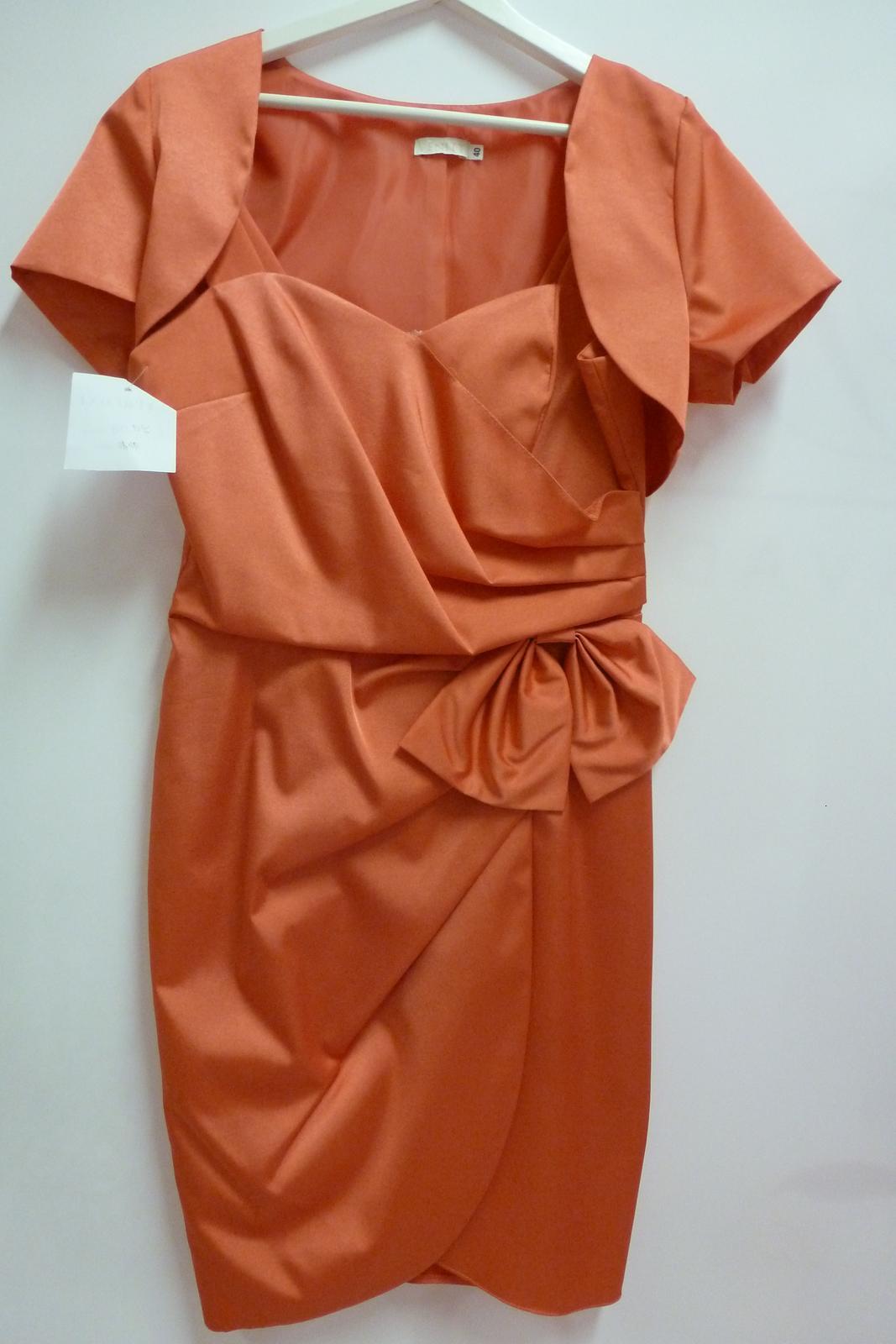 Spoločenské krátke šaty Veniti - Obrázok č. 1