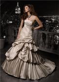 Svadobné šaty MGNY - model Floridia, 40