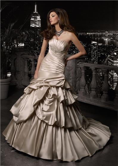 Svadobné šaty MGNY - model Floridia - Obrázok č. 1