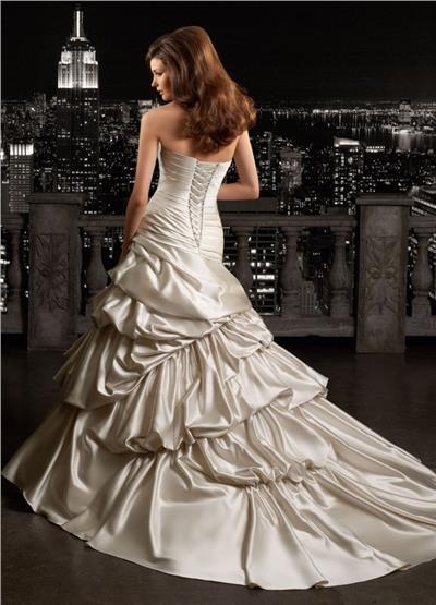 Svadobné šaty MGNY - model Floridia - Obrázok č. 2