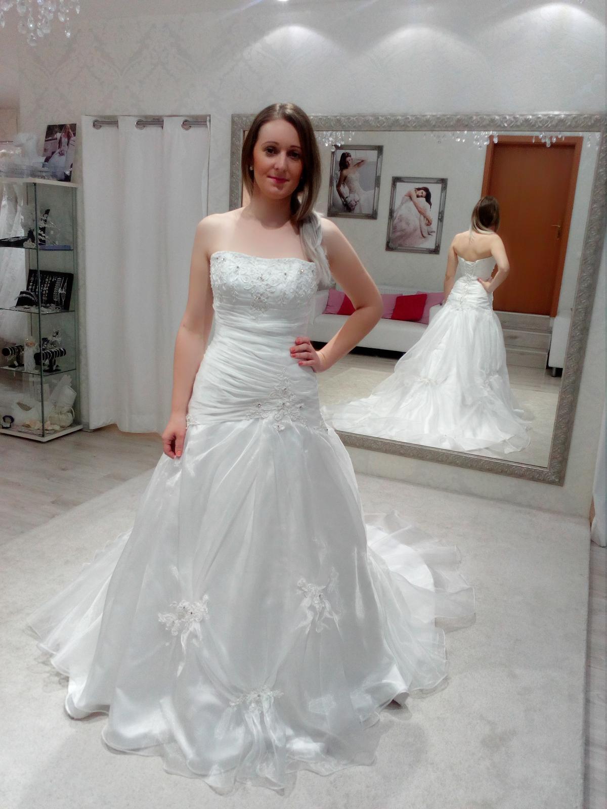 Svadobné šaty Maggie Sottero - model Ashley - Obrázok č. 3
