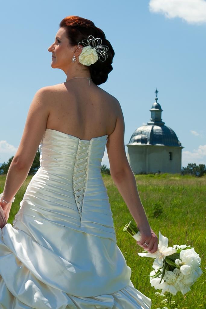 Svadobné šaty MGNY - model Floridia - Obrázok č. 4