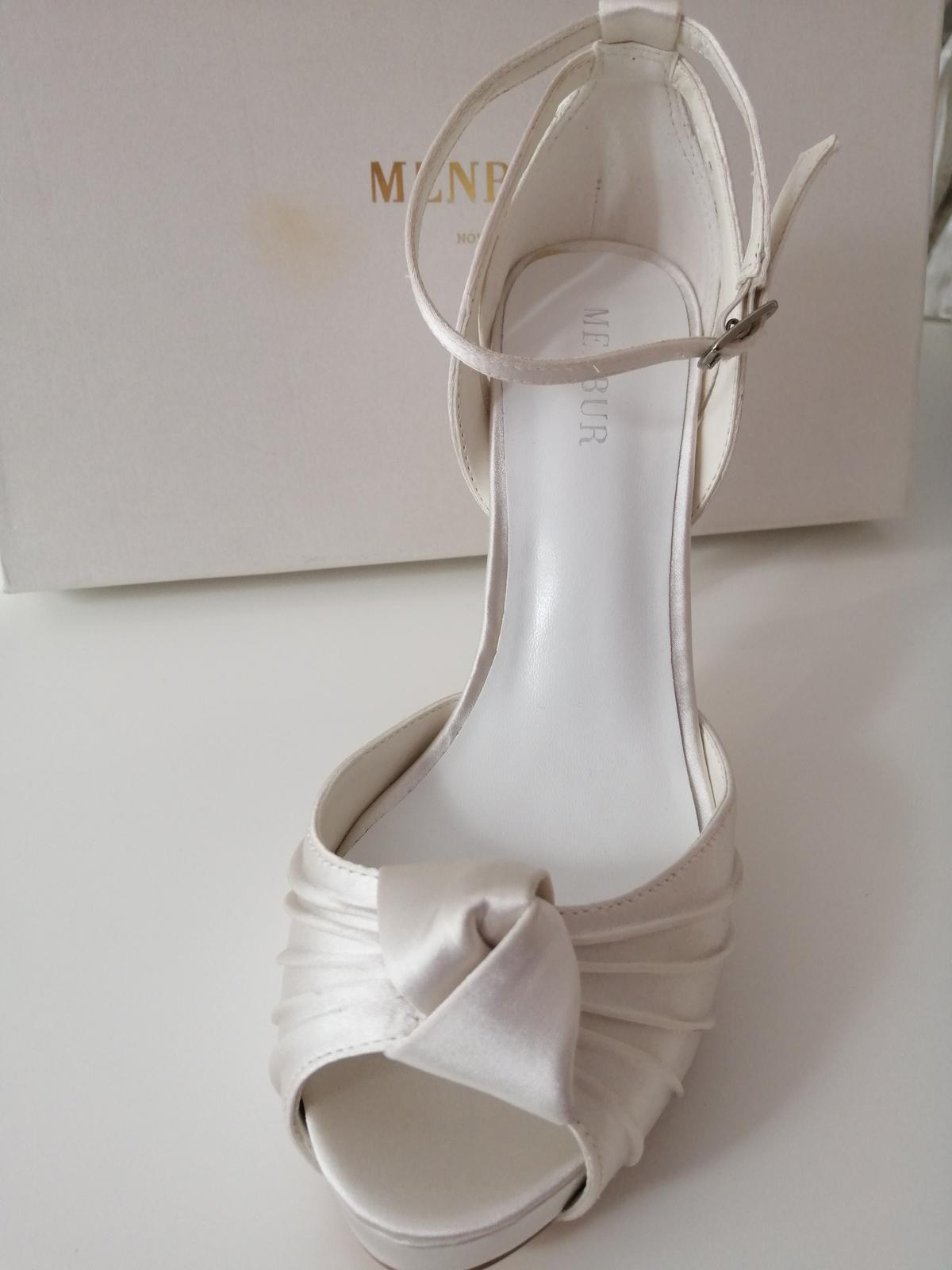 Svadobné topánky Angelica (6970) - Obrázok č. 2