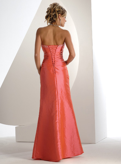 Spoločenské šaty - Flirt P1208 - Obrázok č. 2