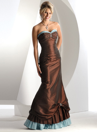 Spoločenské šaty - Flirt P1220 - Obrázok č. 1