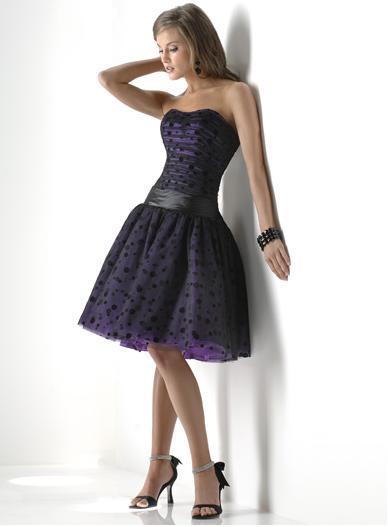 Krátke šaty Flirt P4341 - Obrázok č. 1