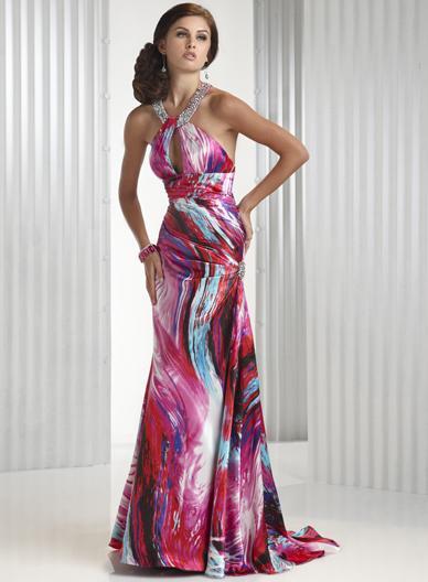 Spoločenské šaty - Flirt P4404 - Obrázok č. 1