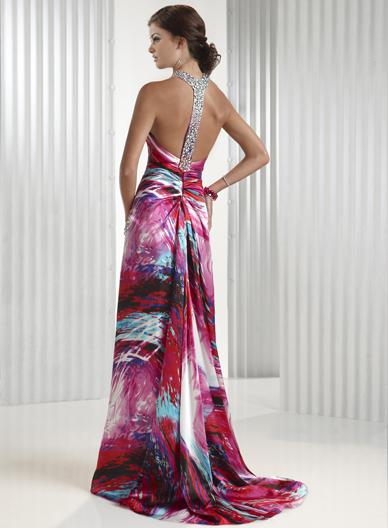 Spoločenské šaty - Flirt P4404 - Obrázok č. 2