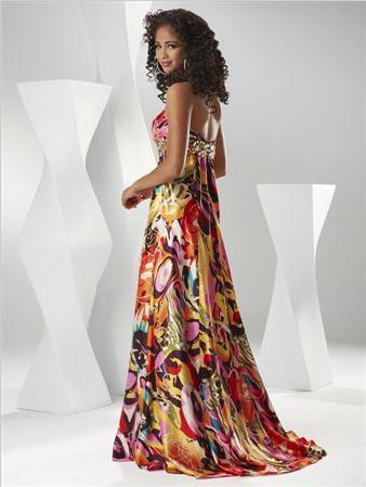 Spoločenské šaty - Flirt P1540 - Obrázok č. 2
