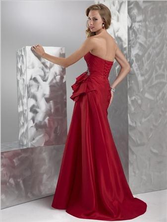 Spoločenské šaty - Flirt P5521 - Obrázok č. 2