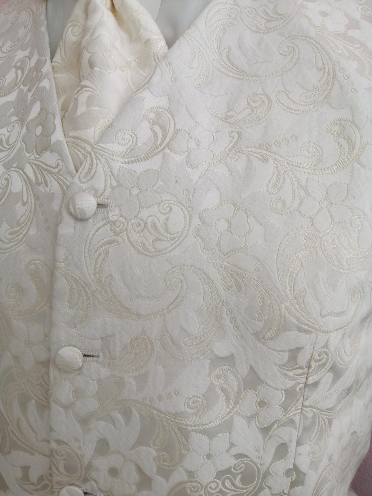 Svadobná vesta ivory -  Wilvorst - Obrázok č. 2