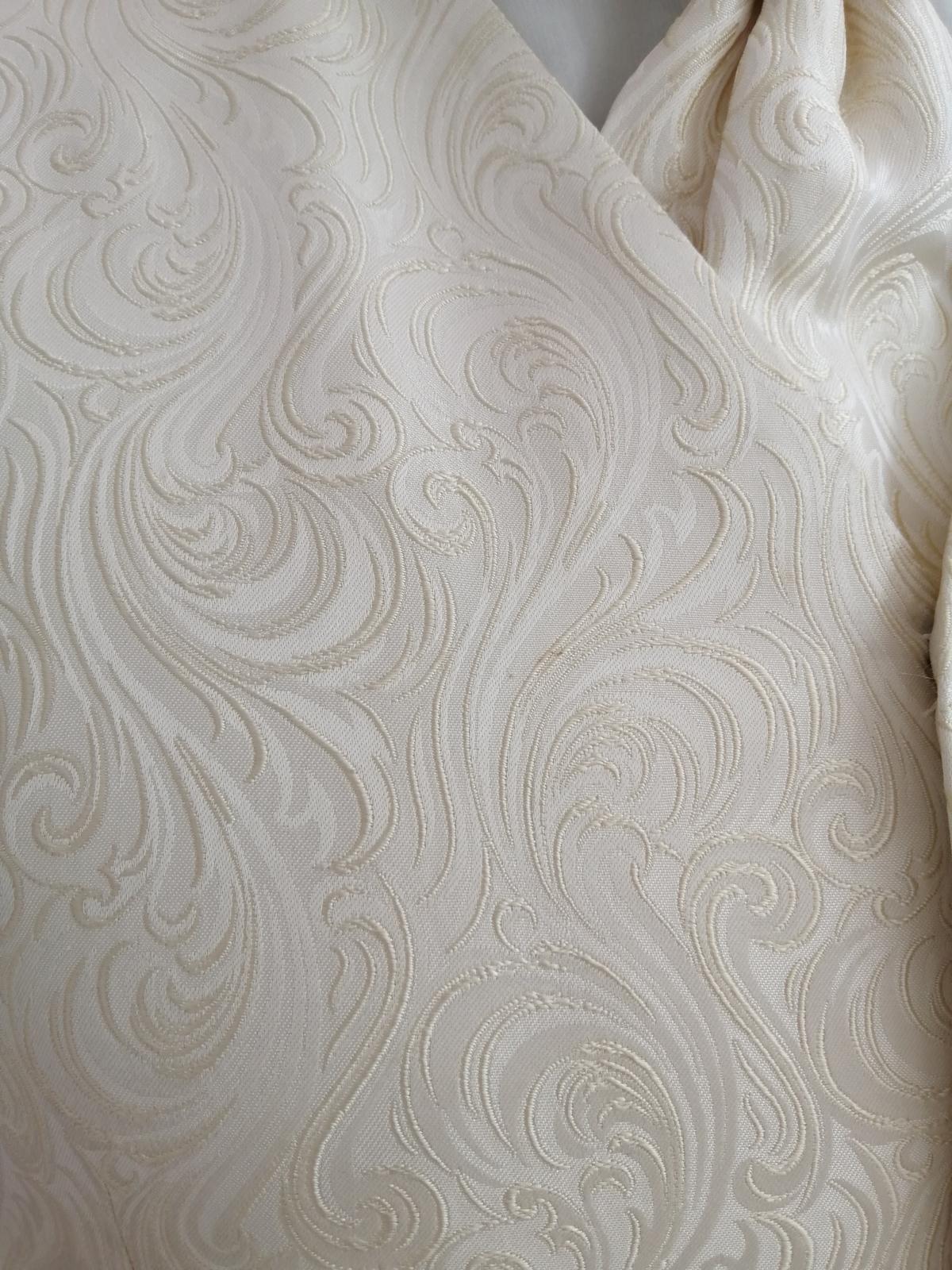 Svadobná vesta - maslová - Wilvorst - Obrázok č. 2