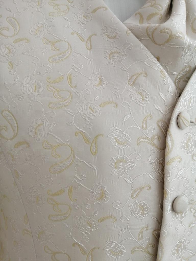 Svadobná vesta - ivory - Avantgard - Obrázok č. 2