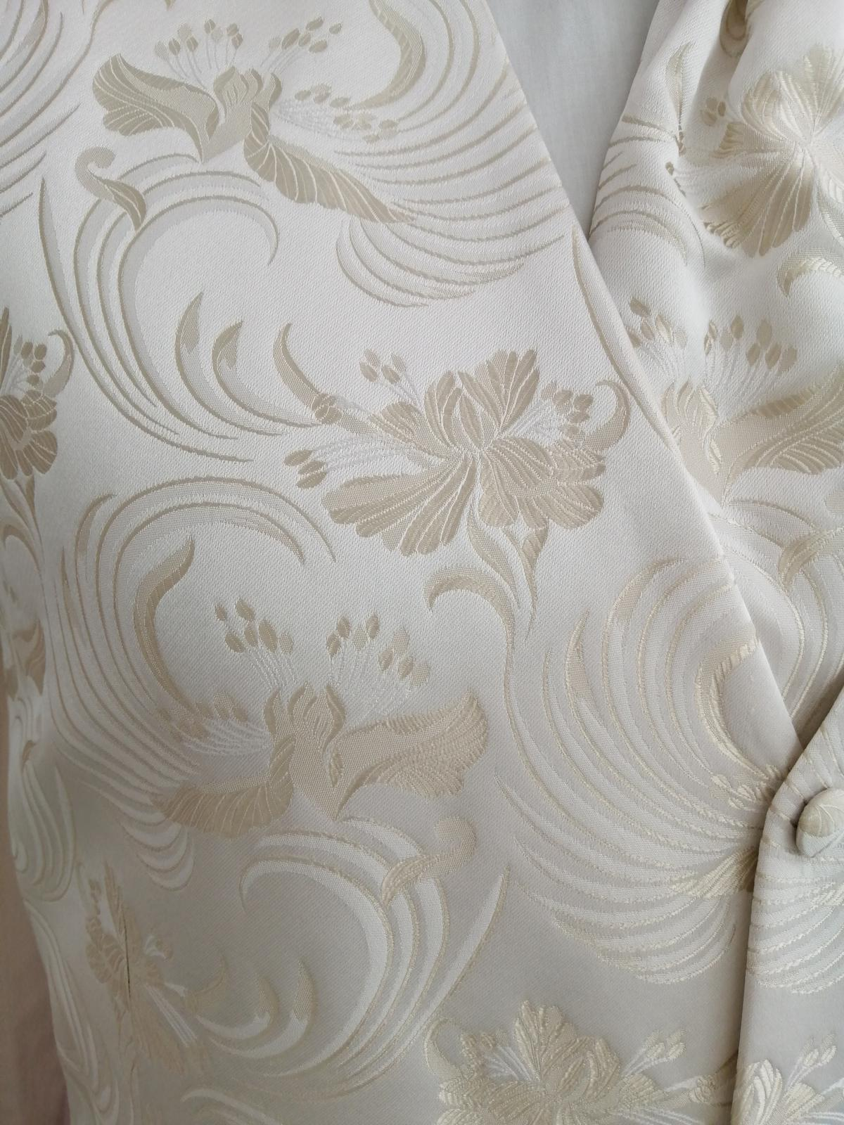 Svadobná vesta - ivory - Tziacco - Obrázok č. 2