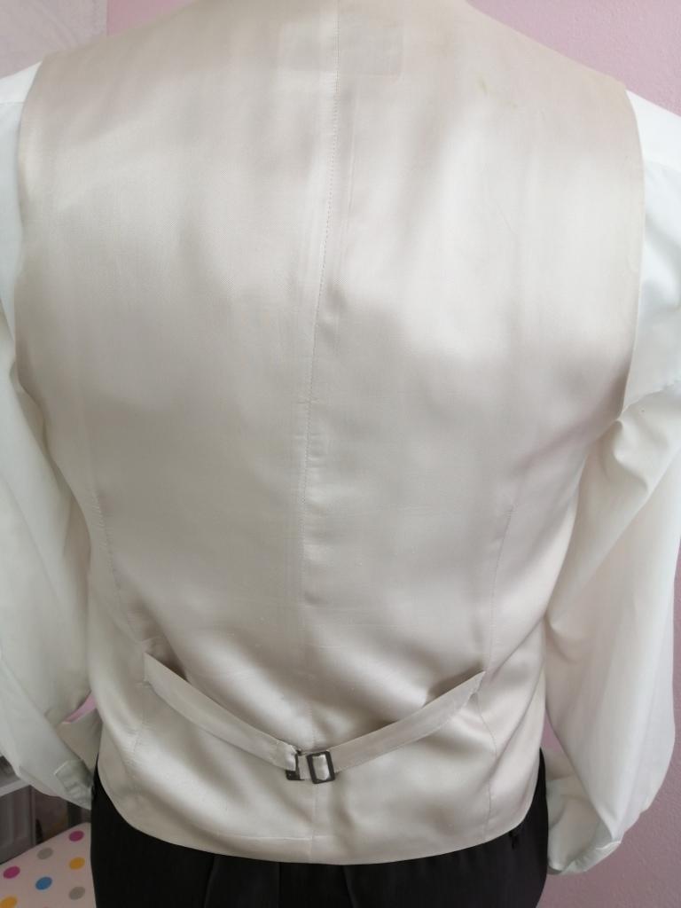 Svadobná vesta - béžovo hnedá - Wilvorst - Obrázok č. 3