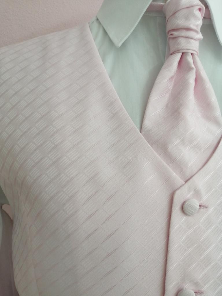 Svadobná vesta - ružová - Jamel - Obrázok č. 2
