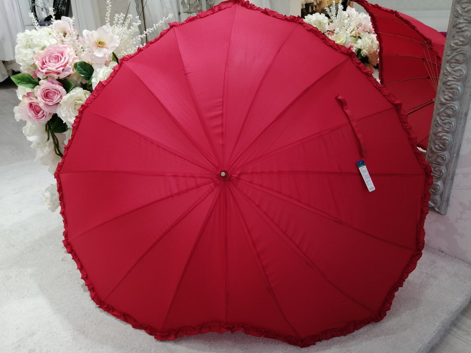 Dáždnik v tvare srdca - Obrázok č. 4