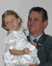 naše dcera s tchánem