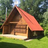 Rekreačná chata - drevenica v obci Virt na 550m2 ,