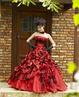 Krááásne červeno-biele šaty - Obrázok č. 18