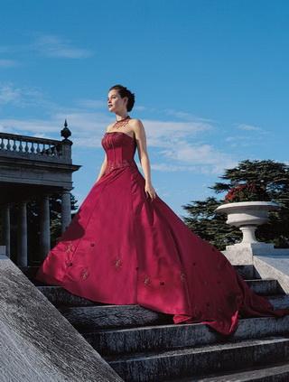 Krááásne červeno-biele šaty - Obrázok č. 19