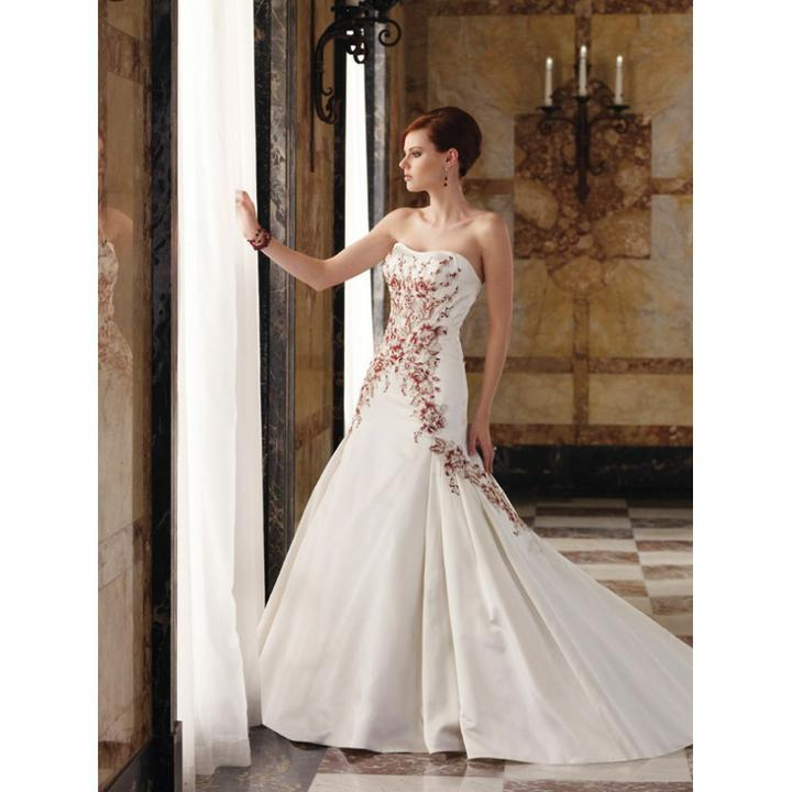 Krááásne červeno-biele šaty - Obrázok č. 20
