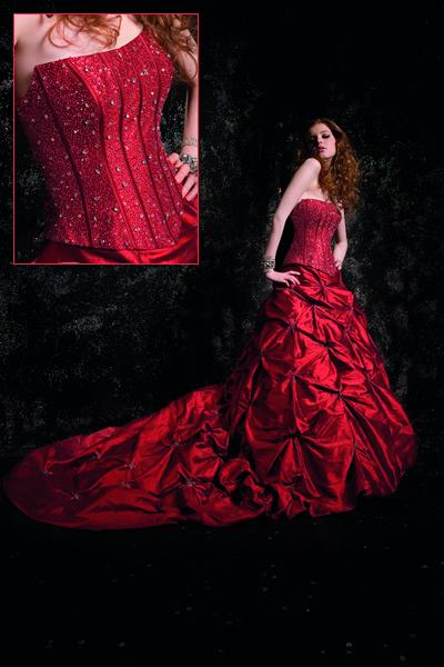 Krááásne červeno-biele šaty - Obrázok č. 21
