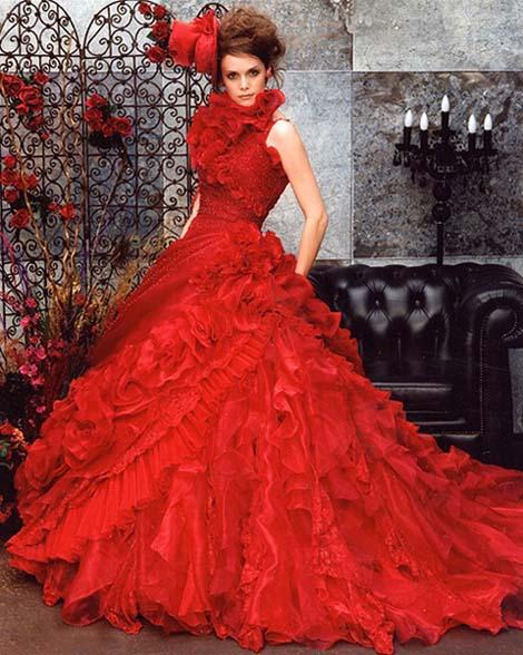 Krááásne červeno-biele šaty - Obrázok č. 26