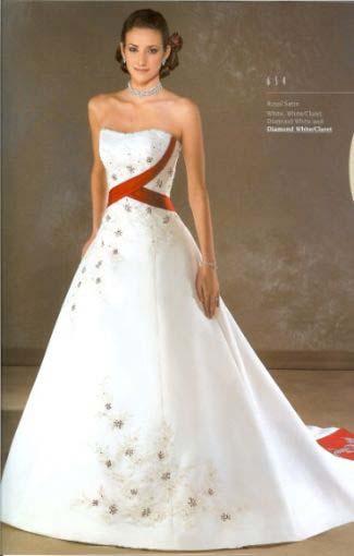 Krááásne červeno-biele šaty - Obrázok č. 42