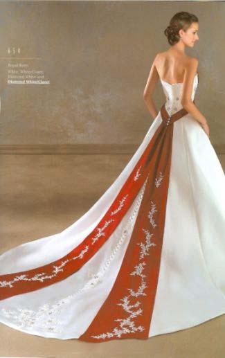 Krááásne červeno-biele šaty - Obrázok č. 43