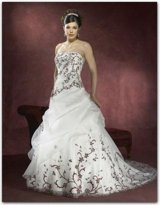 Krááásne červeno-biele šaty - Obrázok č. 44
