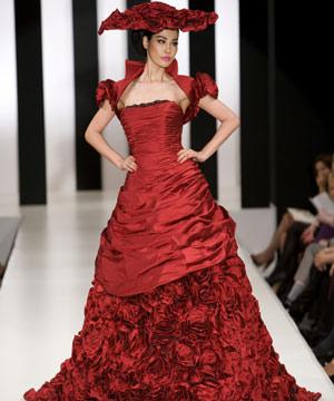 Krááásne červeno-biele šaty - Obrázok č. 46