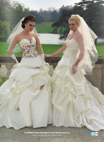 Krááásne červeno-biele šaty - Obrázok č. 49