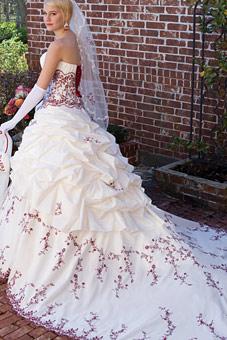 Krááásne červeno-biele šaty - Obrázok č. 51
